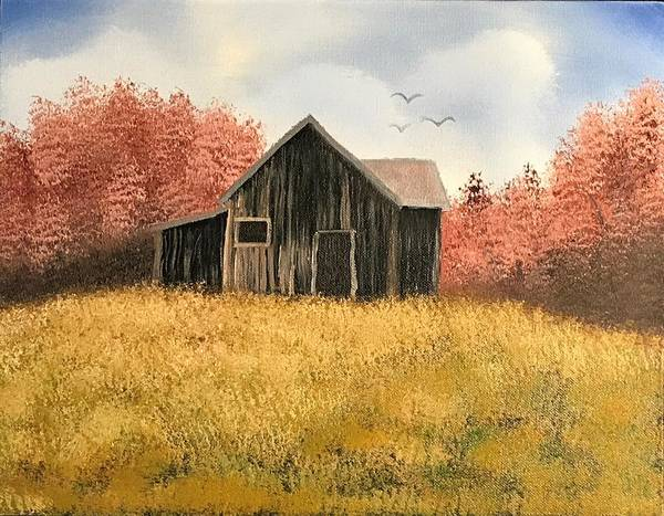 Wall Art - Painting - House In The Country by Willy Proctor