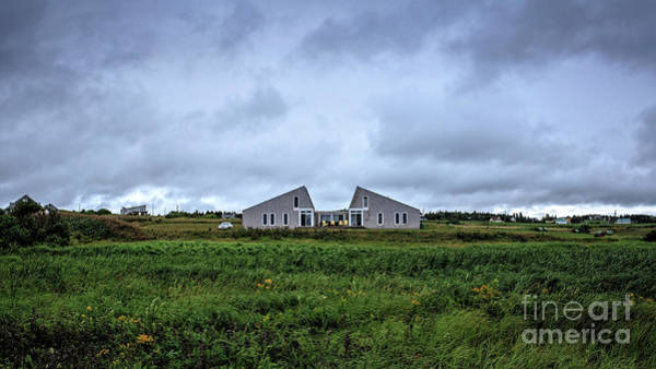 Photograph - House In The Dunes Branders Pond Pei by Edward Fielding