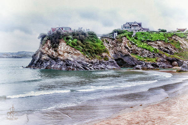 Photograph - House In The Sea 2 by Pennie McCracken