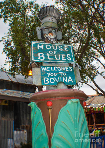 Photograph - House Of Blues by Gary Keesler