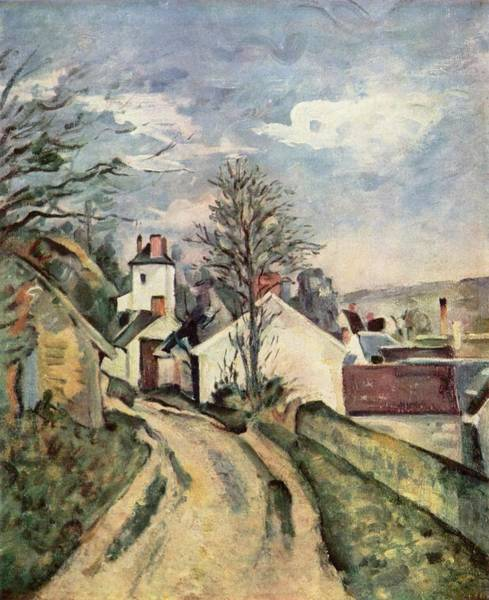 Painting - House Of Dr. Gachet by Paul Cezanne