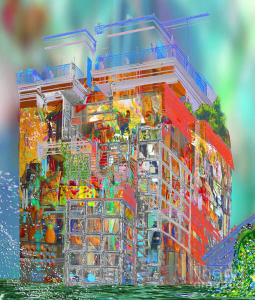 Digital Art - House Of Dreams by Dorothy  Pugh
