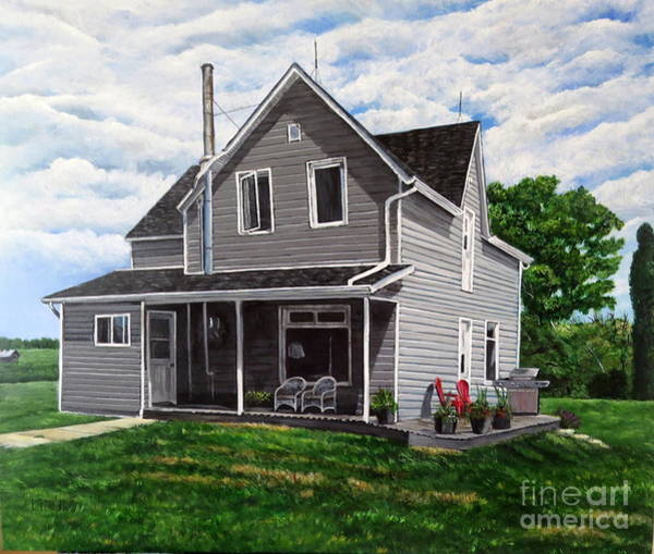 Painting - House Of Memories by Marilyn McNish