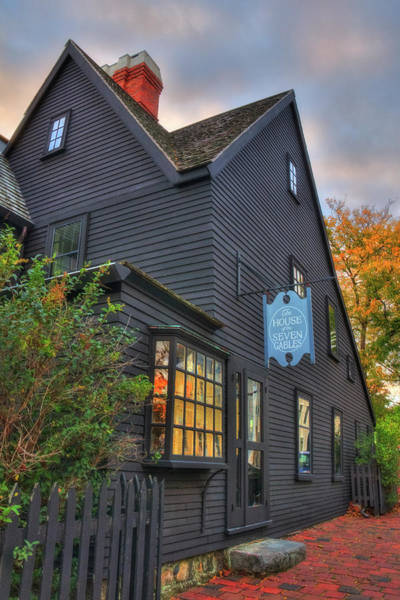 Photograph - House Of Seven Gables - Salem Ma by Joann Vitali