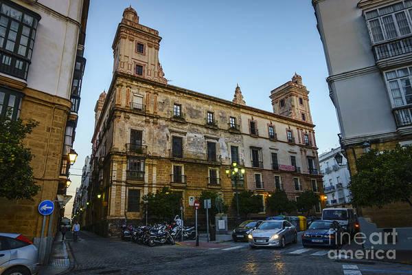 Photograph - House Of The Four Towers Cadiz Spain by Pablo Avanzini
