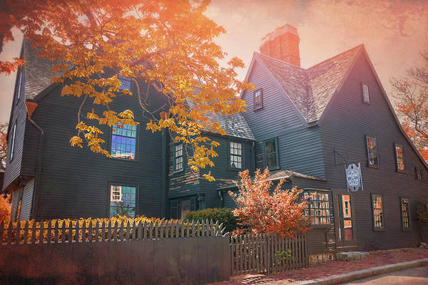 Wall Art - Photograph - House Of The Seven Gables Salem Massachusetts by Carol Japp