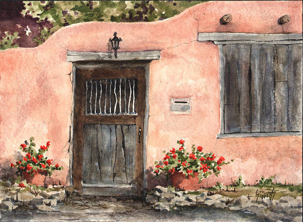 Painting - House On Delgado Street by Sam Sidders
