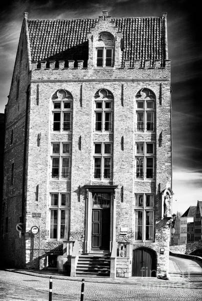 Wall Art - Photograph - House On The Corner In Bruges by John Rizzuto