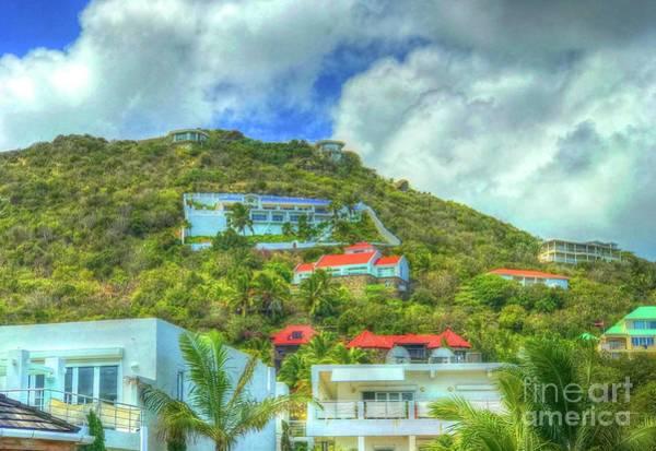 St. Maarten Photograph - House On The Hill by Debbi Granruth
