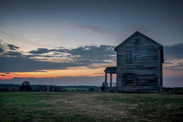 Photograph - House On The Hill by Ryan Wyckoff