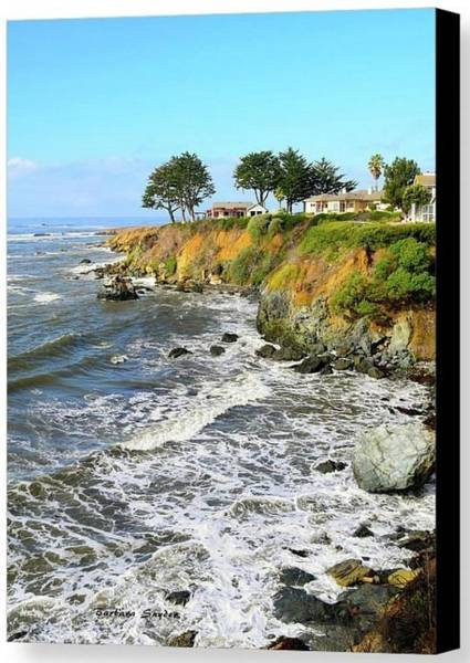 Photograph - House On The Point Cayucos California Special by Barbara Snyder