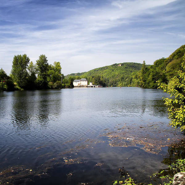Photograph - House On The River Bend - South West France by Georgia Fowler