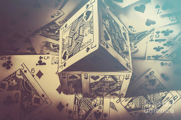 Wall Art - Photograph - House That Poker Built by Jorgo Photography - Wall Art Gallery