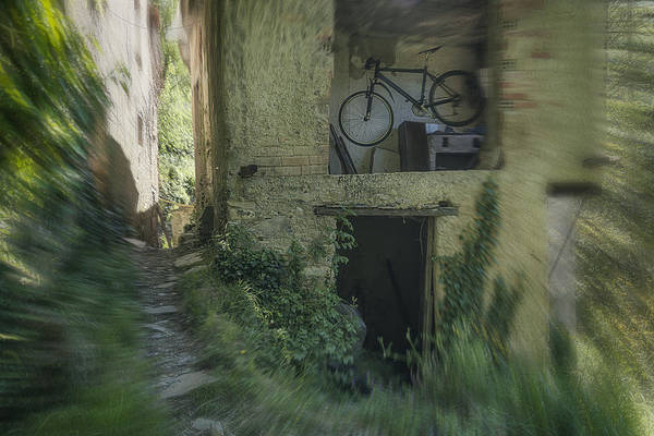 Photograph - House With Bycicle by Enrico Pelos