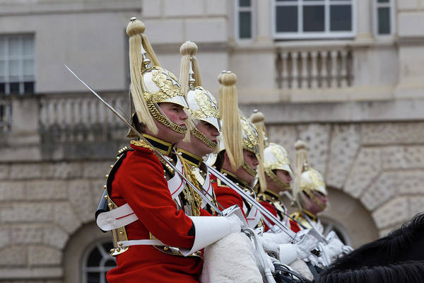 Wall Art - Photograph - Household Cavalry Changing Of The Guard by David Pyatt
