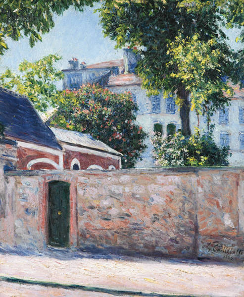 Painting - Houses In Argenteuil by Gustave Caillebotte