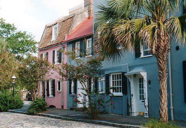 Photograph - Houses In Charleston Sc by Susanne Van Hulst