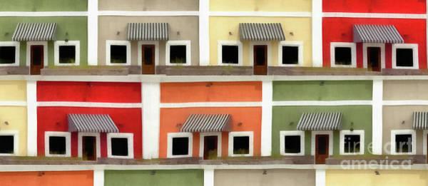 Photograph - Houses Mug by Edward Fielding
