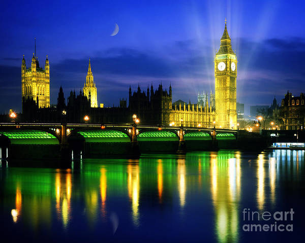 Photograph - Houses Of Parliament by Edmund Nagele