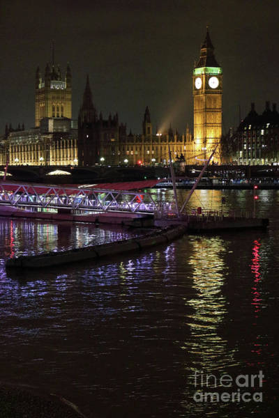 Photograph - Houses Of Parliament London by Julia Gavin