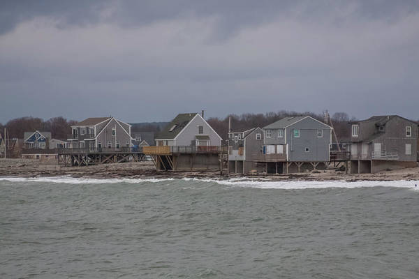 Photograph - Houses On Peggoty Beach by Brian MacLean