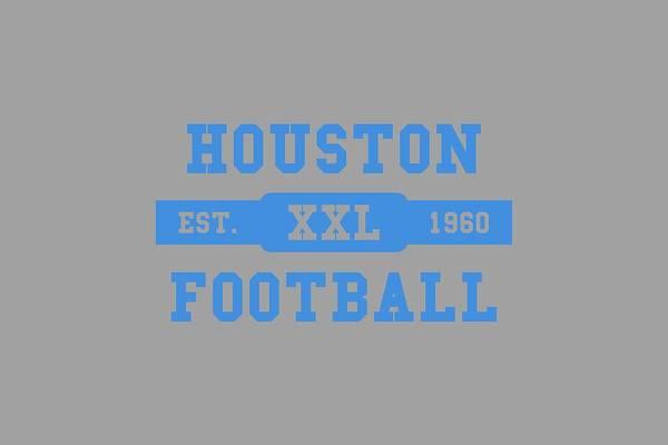 Wall Art - Photograph - Houston Oilers Retro Shirt by Joe Hamilton