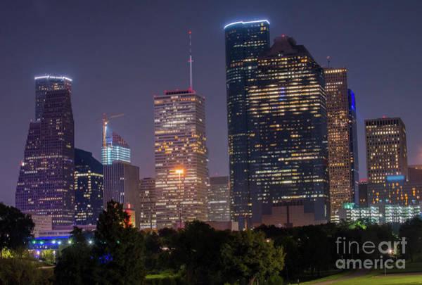 Photograph - Houston Syline by Juli Scalzi