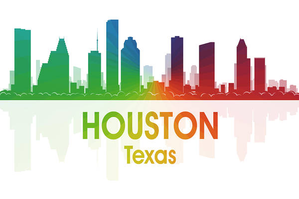 Mixed Media - Houston Tx by Angelina Tamez