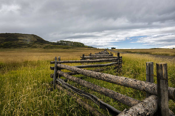 Wall Art - Photograph - How Fences Are Made by Jon Glaser
