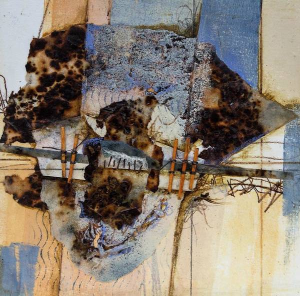 Wall Art - Mixed Media - How Much More by Laura Lein-Svencner
