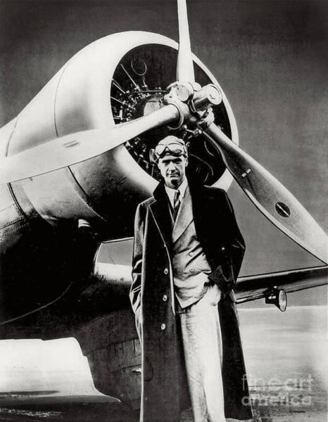 Photograph - Howard Hughes - American Aviator  by Doc Braham