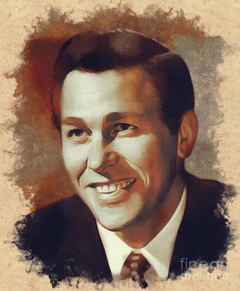 Howard Painting - Howard Keel, Hollywood Legend by Mary Bassett