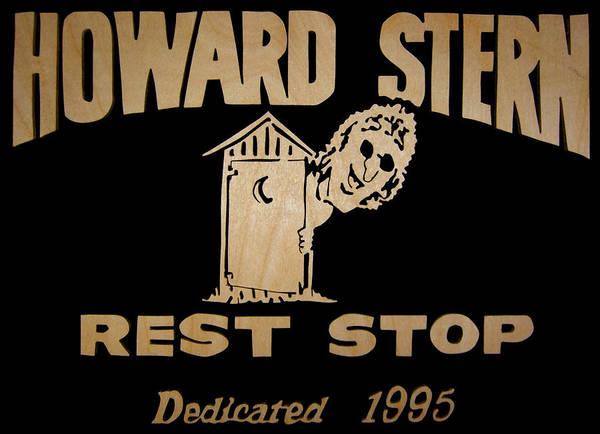Howard Stern Wall Art - Digital Art - Howard Stern Rest Stop by Michael Bergman