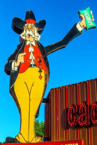 Wall Art - Photograph - Howdy Gambling Man by Garry Gay