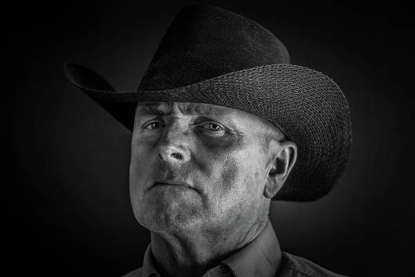 Pokes Wall Art - Photograph - Howdy Pard by Randy Turnbow