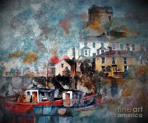 Painting - Howth Mist, Dublin...dscf8387 by Val Byrne