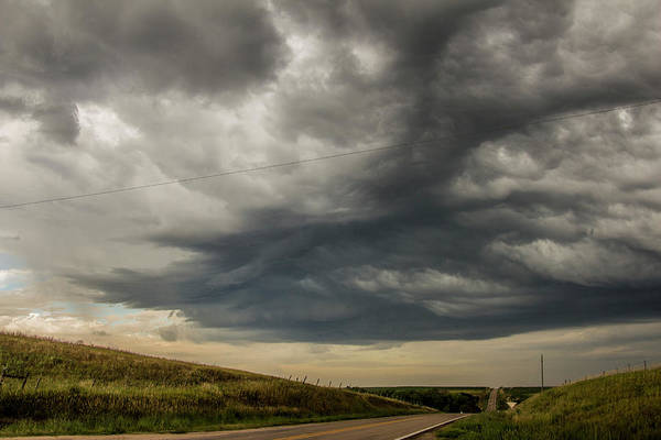 Photograph - Hp Thunderstorms In South Central Nebraska 001 by NebraskaSC