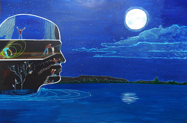Wall Art - Painting - HQ by Lazaro Hurtado