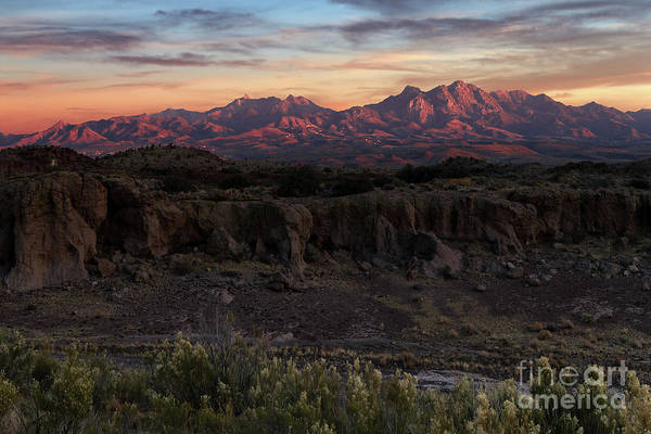 Wall Art - Photograph - Hualapai Mountains  by Rick Mann