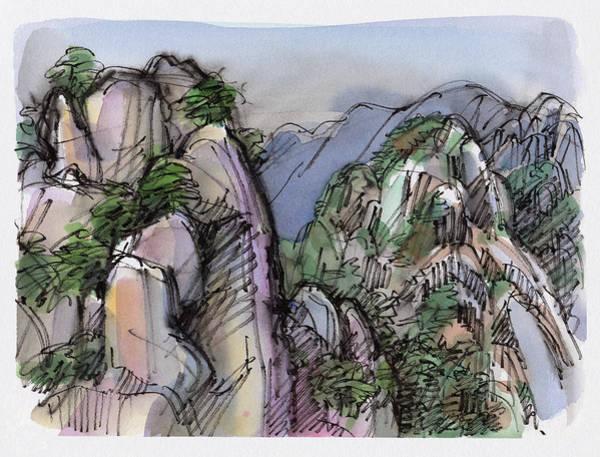 Huangshan, China Art Print