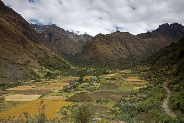 Huaripampa Valley Art Print