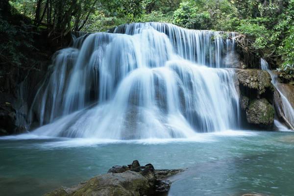 Photograph - Huay Mae Khamin Waterfall by Movie Poster Prints