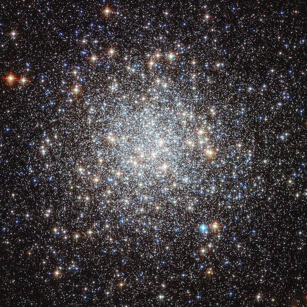 Photograph - Hubble Image Of Messier 9 by Celestial Images