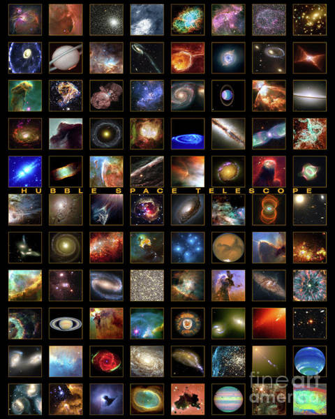 Photograph - Hubble Mosaic by Paul W Faust - Impressions of Light