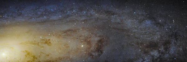 Photograph - Hubble's High-definition Panoramic View Of The Andromeda Galaxy by Adam Romanowicz