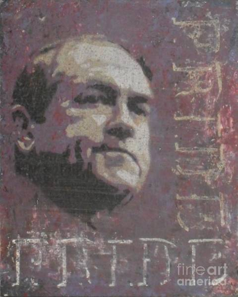 Election 2016 Painting - Huckabee Pride by Tom McGill