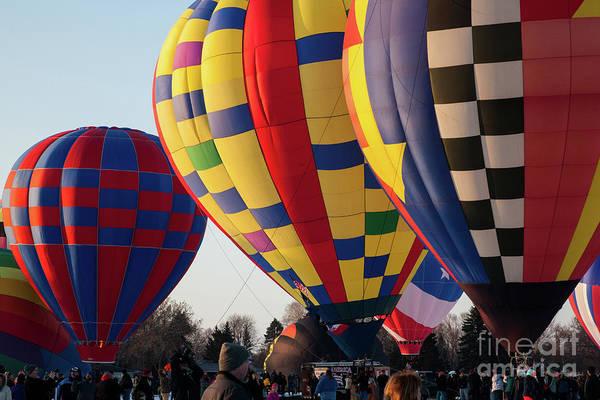 Photograph - Hudson Hot Air Balloon Festival 2018 Amazing by Wayne Moran
