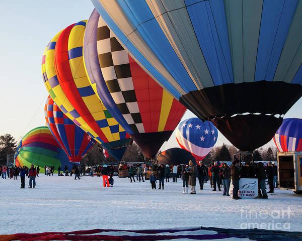 Photograph - Hudson Hot Air Balloon Festival 2018 Fantastic by Wayne Moran