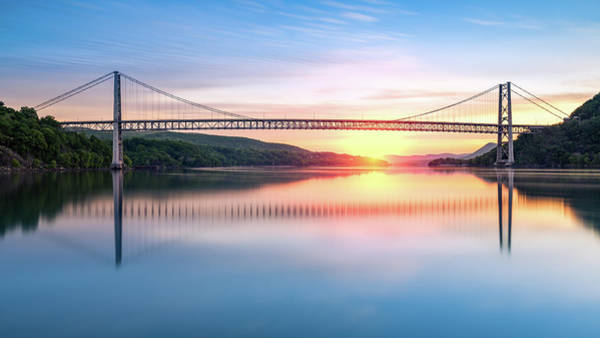 Photograph - Hudson River Sunrise by Mihai Andritoiu