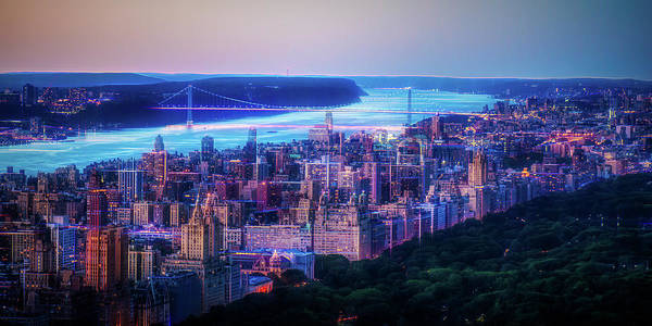 Photograph - Hudson River Sunset by Theodore Jones